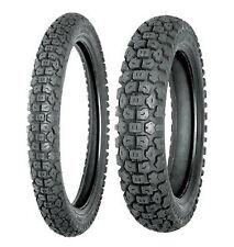 New Shinko 3.00-21 & 5.10-17 244 Tire Set For Kawasaki KLR650 & Honda XL600R