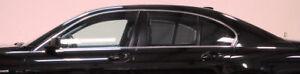 BMW Brand E65 2002-2008 7 Series Chrome-line Side Window 8 Piece Trim Kit OEM