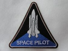 Space Pilot Shuttle Embroidered Iron On Patch Applique Badge