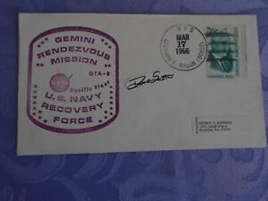 Gemini 8 USS Mason original signiert Dave Scott Space