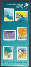 Qatar 990 MINT NH Cplt set Booklet #2 2006 Asian Games mascot Orry 2004 MNH