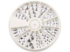 Nail Art Metall Plating In 12 Formen Silber Apc-40