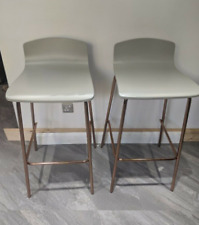 Grey syrus from Made bar stools x2