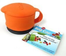 Copco Bag Cap NWT Makes Any Bag into a Reusable Container Orange New