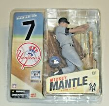 MICKEY MANTLE McFARLANE MLB COOPERSTOWN COLLECTION SERIES 3 MINT