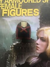 Art Figures Female Armored Cop Judge Anderson Helmet loose 1/6th scale