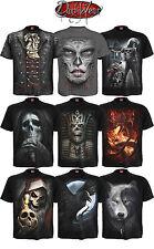 Espiral directo Nuevos Diseños skull/dragon/reaper / rock/metal/halloween / T shirt/top