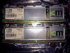 MUSHKIN 2GB Kit 2x1GB 996527 PC2-6400 DDR2 SDR DIMM SDRAM RAM Memory Non-ECC