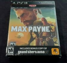 Max Payne 3 + Grand Theft Auto IV Greatest Hits Edition  (Sony PS3)  DOUBLE PACK
