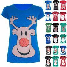 Christmas Black T-Shirts for Women
