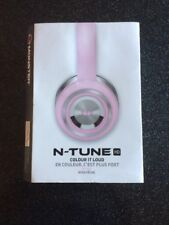 Casque Ecouteur Monster N-Tune HD Couleur Rose Neuf Fille