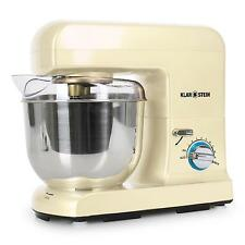 Rühr Gerät Küchen Knet Maschine Teigkneter Edelstahl Schüssel LED 5L 1000W