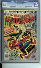 Amazing Spider-Man #168 CGC 9.8 OW/WP Romita cover. 2nd app Will O' Wisp