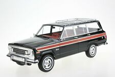 LS Collectibles 1963 Jeep Grand Wagoneer Black 1/18 Scale New! LE of 100