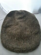 Irish Cap Hat Rich Green Donegal Tweed Irish Made By Magee  Ireland size S