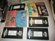 New listing Lot Of 4 Gametape Players Nintendo Vhs tapes Vol 1 No 1,2,4,6