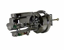 """1964 66  Mustang chrome 7"""" Power Brake Booster Kit disc drum valve"""