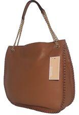 Michael Kors WHIPPED CHELSEA Large Top Zip Shoulder Bag Hobo Acorn Brown Nwt$368