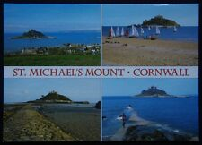 St Michael's Mount Cornwall Postcard (P242)