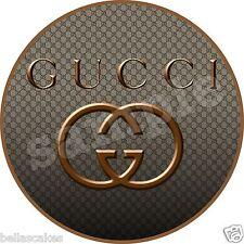 Eßbarer Tortenaufleger Gucci Designer backen Tortenbild Geburtstag Party Deko