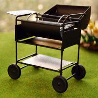 1/12 Dollhouse Picnic Grill Miniature Kitchen Barbecue BBQ Grill Oven Toys