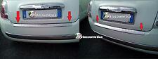Fiat 500 2007 - 2015 Ladekantenschutz mit Abkantung Gebürstet aus Edelstahl V2A