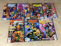 HEROES FOR HIRE #14,15,16,17,18,19,ANNUAL#1  LOT OF 7 VF/NM 1998-1999 MARVEL