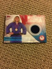 2016 Topps Kayla Harrison Uniform Relic Made Rare Find