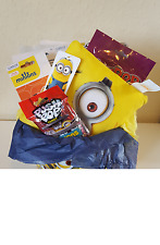 despicable me minion sweet and toy bundle, gift, bucket, hamper