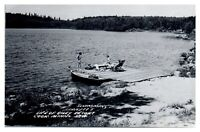 RPPC Swimming at Life of Riley Resort, Cook, MN Real Photo Postcard *5N(3)31