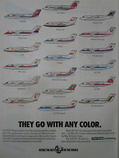 5/1989 PUB TEXTRON LYCOMING ALF 502 BAE 146 AIRLINES TNT DAT PELITA LOGANAIR AD