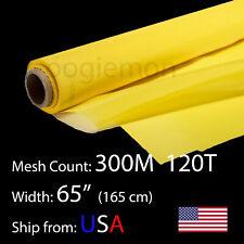 3 Feet 65 Wide Silk Screen Printing Mesh Fabric 300 M 120t Polyester 36 L
