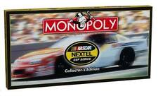 NEW 2005 HASBRO NASCAR NEXTEL CUP SERIES MONOPOLY BOARD GAME COLLECTOR'S EDITION