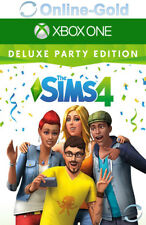 Die Sims 4 Deluxe Party Edition - Microsoft Xbox One Digital Download Code - DE