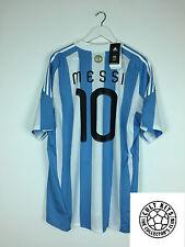 L'argentine messi #10 10/11 * bnwt * home football shirt (xl) soccer jersey adidas