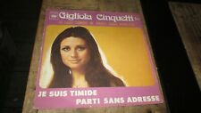 Lot vinyles 45T.Gigliola Cinquetti-Années 60