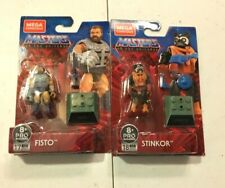 MEGA CONSTRUX MASTERS OF THE UNIVERSE Heroes New Fisto And Stinkor In hand