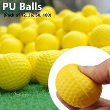 A99Golf PU Foam Balls Practice Golf Ball Indoor Outdoor Yellow Floater Water Fun