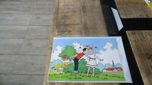 Vandersteen-Bob&Bobette-Enveloppe&Carte postale grand format-Postogram-Neuve