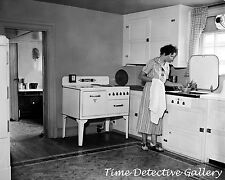 The Modern All Electric Kitchen - 1936 - Historic Photo Print