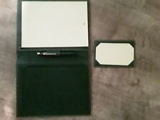 Rolex Novelty Gift Paper And Pen Desk Set Green Leather Book and Pen