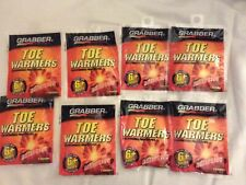 Grabber Toe Warmers, 8 Pairs(Packs) Adhesive, 6+ Hours, Air Activated Ex 06/23