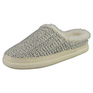 Toms Sage Womens White Slippers Shoes - 8.5 US