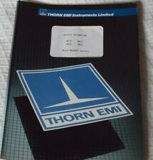 Original Thorn EMI (Megger) Service Manual for Major Meggers