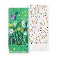 Garden Snail Kitchen Towel 2 Pack by Kohls Celebrate Spring Together