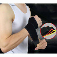 Hand Wrist Brace Elastic Palm Support Carpal Tunnel Tendonitis Band Pain Relief