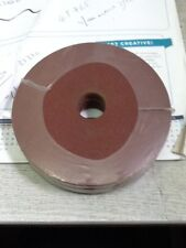 (10) x  ALI OXIDE SANDING PADS DISCS 125 X 22 X 120G (TOOLSHACK)