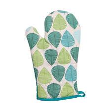 Green Leaf Oven Glove Single Hot Pot Holder Heat Resistant Kitchen Mitt