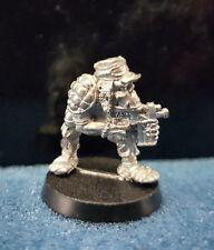 Warhammer40k rogue trader Space Ork Raider Trooper 3 metal oop unpainted 1987