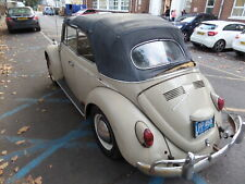 VW beetle karmann convertible 1967 one owner from new one year model only bug